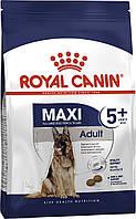 Корм Royal Canin Maxi Adult 5+, для взрослых собак крупных пород, 15 кг