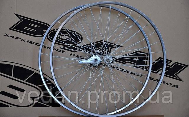 Колесо велосипедное «Водан» 28 дюймов. «Дорожное». Пара – переднее и заднее.