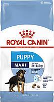 Корм Royal Canin Maxi Puppy, для щенков крупных пород, 15 кг