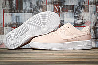 Кроссовки женские 16893, Nike Air  AF-1, розовые, < 37 38 > р. 37-24,0см., фото 1