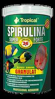 Сухой корм Tropical Super Spirulina Forte GRANULAT для рыб 65374, 450 г