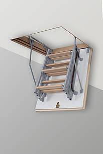 Чердачная лестница Altavilla Metаl 80х60, Cold 26 mm., Pino (сосна)