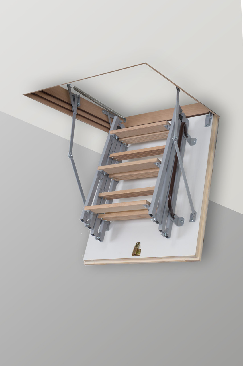 Чердачная лестница Altavilla Metаl 100х80, Cold 26 mm., Faggio (Бук)