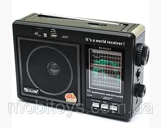 Радиоприемник Golon RX 99 UAR портативная колонка USB / SD / MP3 / FM (3920)