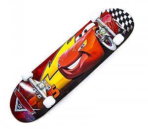 Скейтборд детский PRINT (SD30) Тачки Молния до 80кг (SD)