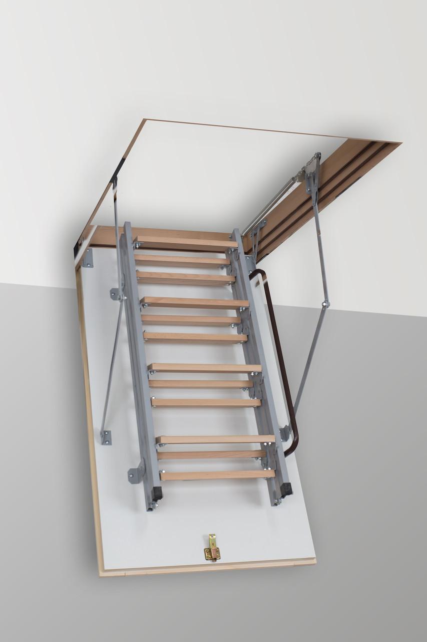Чердачная лестница Altavilla Metаl 120х80, Termo 26 mm., Faggio (Бук)