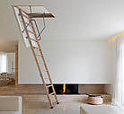 Сходи на горище Altavilla Чердачные лестницы 120х70, Termo 26 mm., Faggio (Бук), фото 3