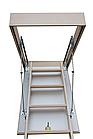 Сходи на горище Altavilla Чердачные лестницы 120х70, TermoPlus 46 mm., Pino (сосна), фото 4