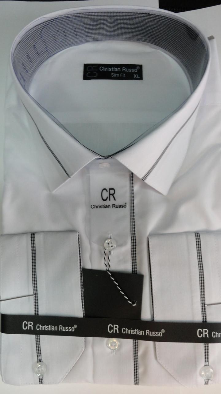 Рубашка мужская Christian Russo приталенная