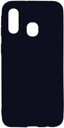 Чехол-накладка TOTO 1mm Matt TPU Case Samsung Galaxy A40 Black #I/S, фото 2