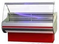 Холодильная витрина Siena шириной 1,1 м с плоским стеклом