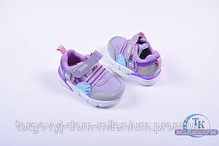 Кроссовки для девочки СОЛНЦЕ G72-1P Размер:22,25