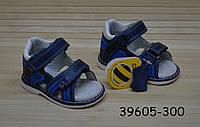 Ортопедические кожаные босоножки для мальчика размеры 17, 18, 22, фото 1