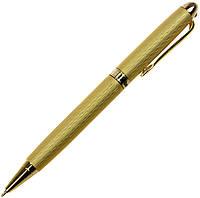 """Ручка кульк. """"FlairP"""" №1058 Regent зол. з черв. каменем 48084 синя, фото 1"""