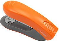"Степлер ""Economix"" №24/6,26/6 30арк №E40286-06 пласт. помаранч."