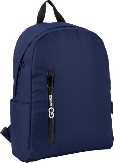 """Рюкзак """"GoPack"""" City 1від.,3карм. синій №GO20-156M-2(10)"""