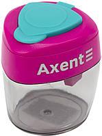 "Точилка ""Axent"" №1162 з конт. Сolourful,асорті(12)"