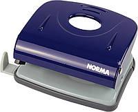 """Дирокол """"Norma"""" 30арк. метал. з лін.,синій №4346/4668(6), фото 1"""
