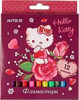 "Фломастери ""Kite"" 12кольор. Hello Kitty №HK19-047(12)(144)"