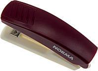 "Степлер ""Norma"" №10 10арк №4039 червоно-сірий+антистеплер(12)"