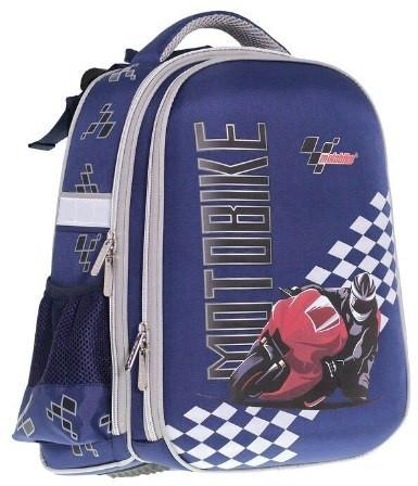 """Ранець каркасний """"School Case"""" Motobike PL,2від.,39x28x21см №9909/Class/(4)"""