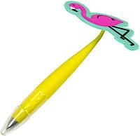 """Ручка кульк. """"Фламінго"""" №DSCN5298 синя(20), фото 1"""
