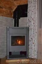 Термостойкая кремнийорганическая эмаль Thermosil 800 чёрная (1кг), фото 3