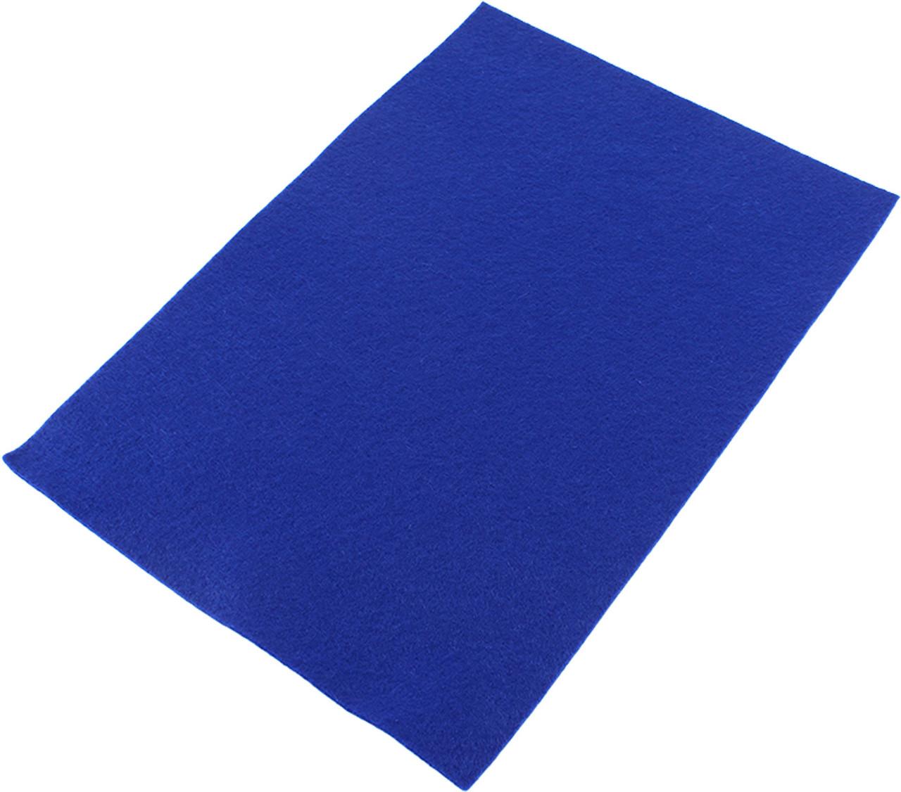 Фетр м`який 21х30см т.-синій №740460(10)