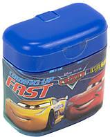 """Точилка """"1В"""" №620413 Cars подвійна з контейнером(24)"""