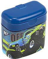 """Точилка """"Yes"""" №620410 M-Trucks подвійна з контейнером(24), фото 1"""
