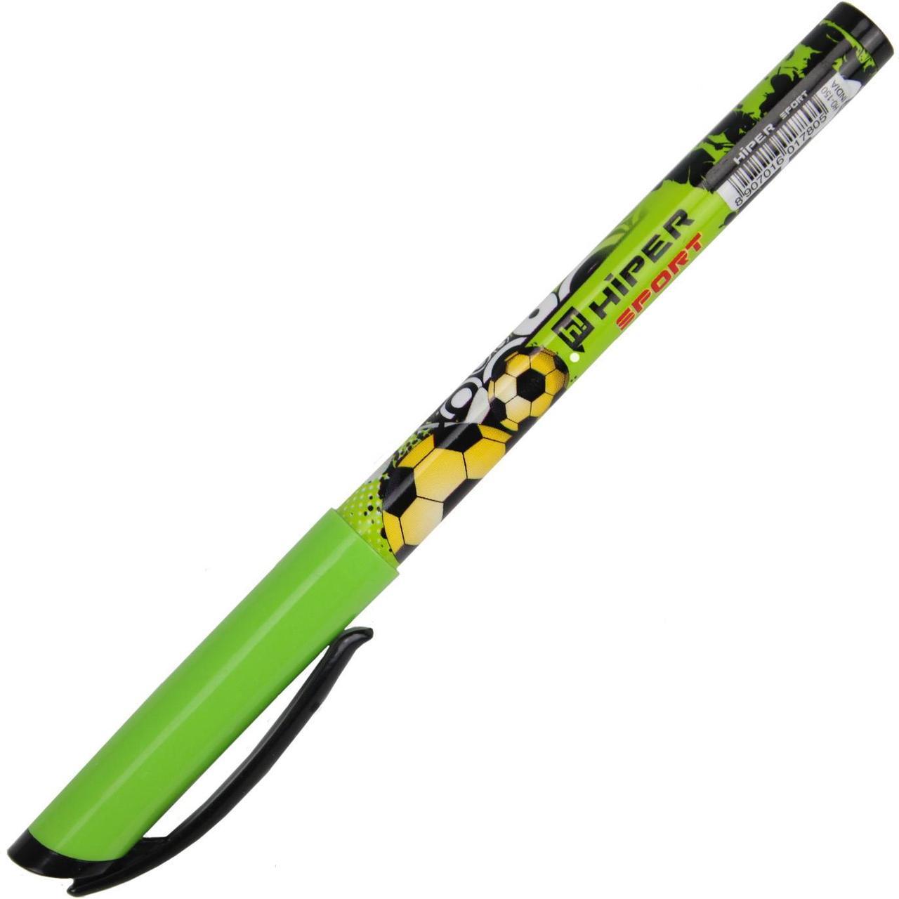 "Ручка масл. кульк. ""Hiper"" №HO-150 Sport 0,7мм чорна(10)(100)(1000)"
