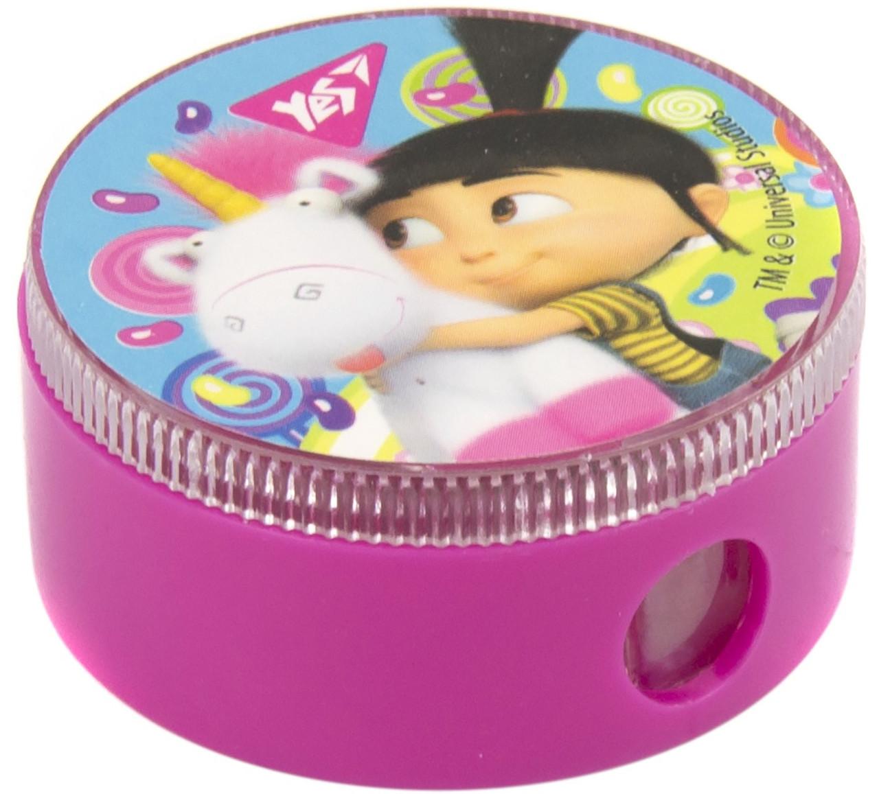 "Точилка ""Yes"" №620416 Minions Fluffy кругла(24)"