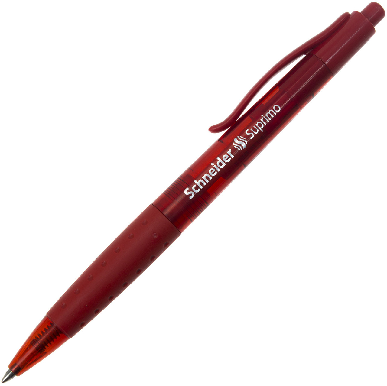 """Ручка авт. кульк. """"Schneider"""" №135602 Suprimo 0,7мм червона,корпус червоний(20)"""