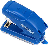 "Степлер ""Norma"" №24/6 16арк 18мм №4052 міні, синій+антистеплер(12)"