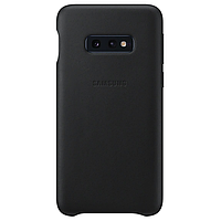 Оригинальный Чехол Samsung Leather Cover Black для Samsung Galaxy S10e (G970)