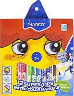 """Фломастери """"Marco"""" 12кольор. 1,25мм №1630-12(12)(48)"""