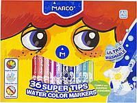 "Фломастери ""Marco"" 36кольор. №FM1630-36CB/4940(4)(16), фото 1"