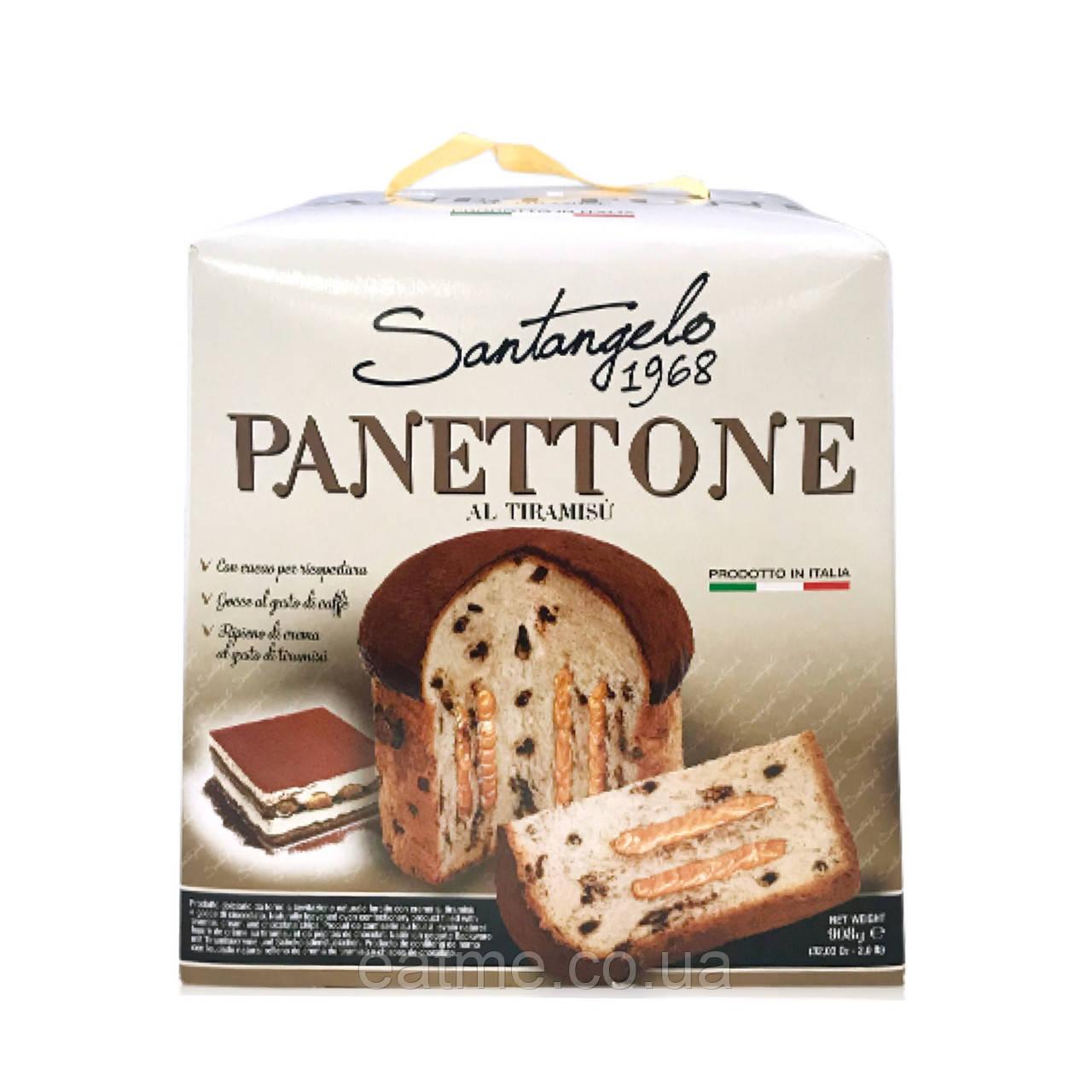 Panettone с начинкой тирамису