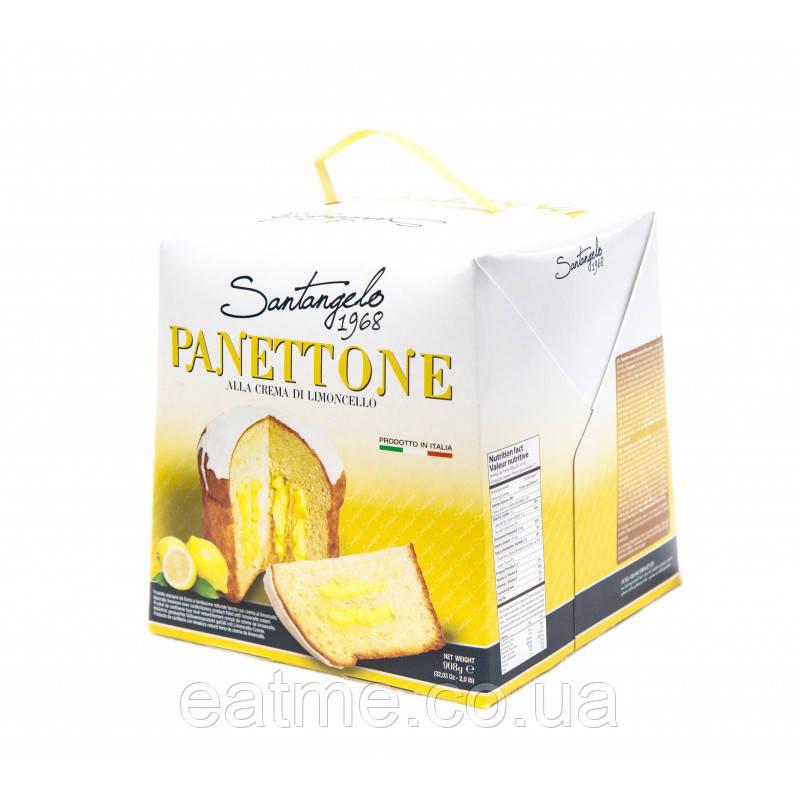 Panettone с лимонной начинкой