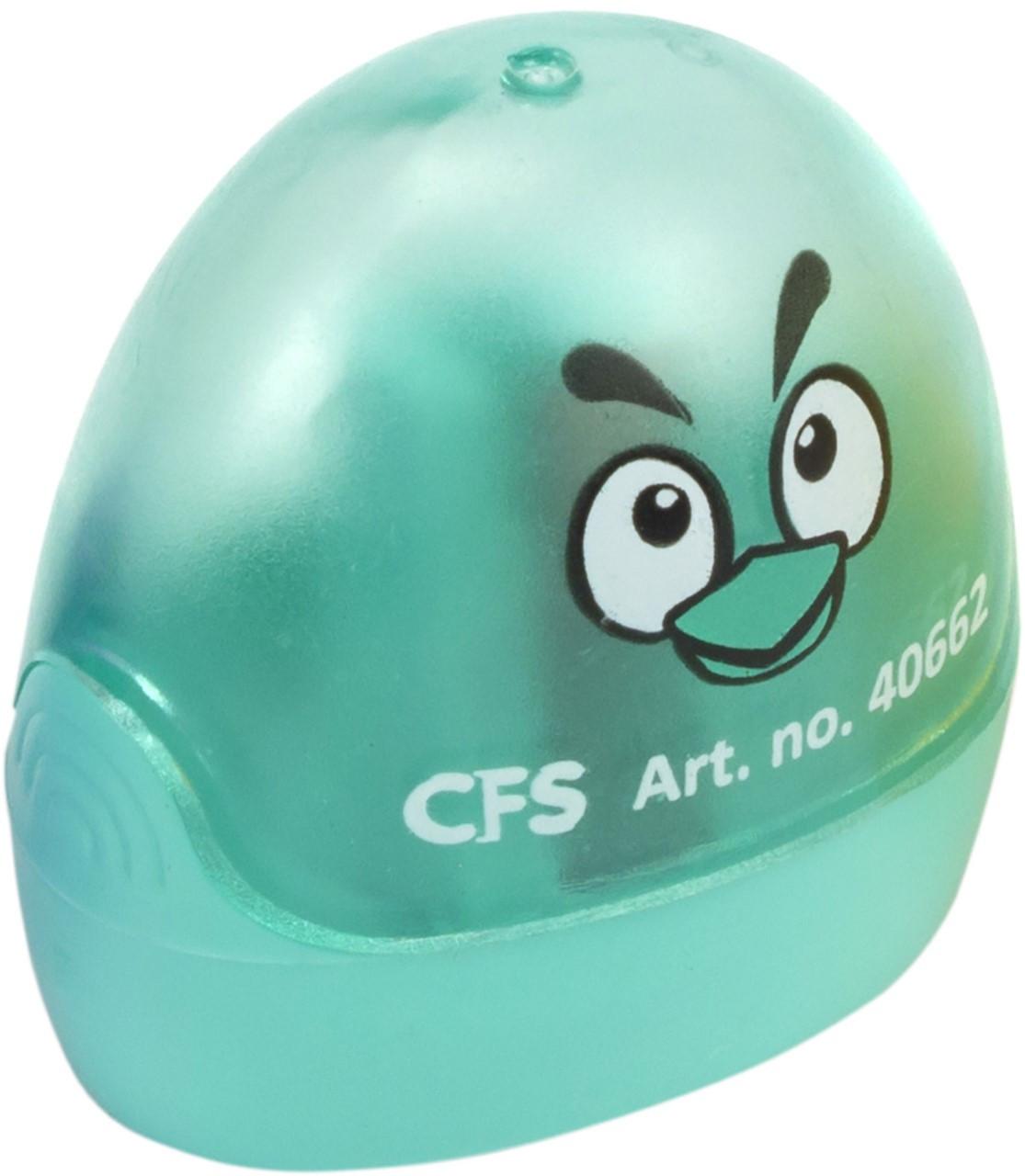 """Точилка """"CoolForSchool"""" №CF40662 Весела пташка пластик. з конт.,1лезо(56)"""