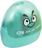 """Точилка """"CoolForSchool"""" №CF40662 Весела пташка пластик. з конт.,1лезо(56), фото 1"""