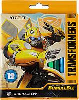 "Фломастери ""Kite"" 12кольор. Transformers №TF19-047(12)(144)"