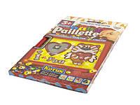 """Набір для творч. """"DankoToys"""" Baby Paillette глітер+пайетки №PG-01-06(18)"""