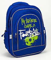 """Ранець """"Football"""" 300D PL,2від.,38x28x18см №9938(4)(20)"""