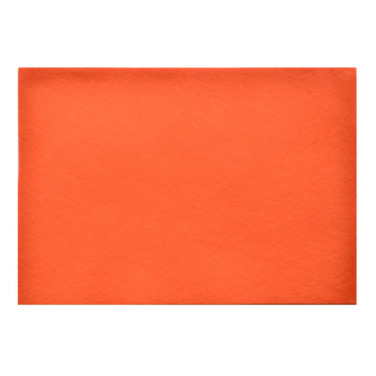 """Фетр м'який """"Santi"""" 21х30см морквяний №741866(10)"""