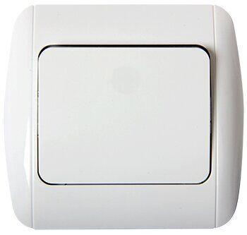 Выключатель e.install.standart.811/2 лестничный с рамкой, E.NEXT [s035021]