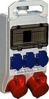 Монтажный набор - окно 8 модулейулей, 2x32A 3P + N + Z 400В, 3 x16A 2P + Z 250В, TAREL, E.NEXT [320]