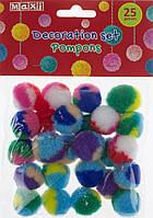 """Набір для декорування """"Бомбони двокольорові"""" 20мм №MX61607-02"""