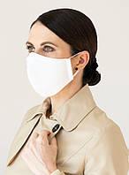 Хлопковая маска многоразовая с карманом