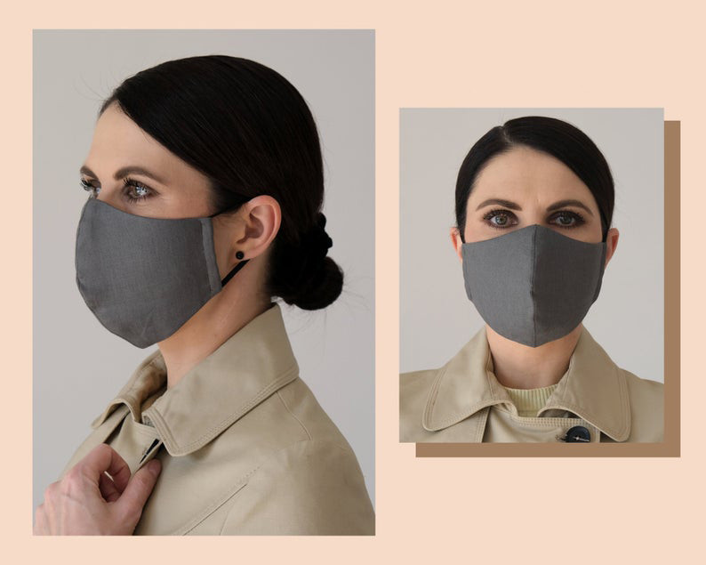 Хлопковая маска многоразовая